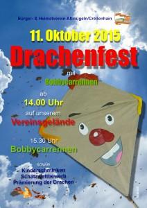 2015 10 5. Drachenfest Plakat